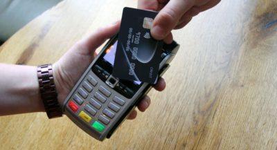 kontaktløs kortbetaling over trådløs terminal