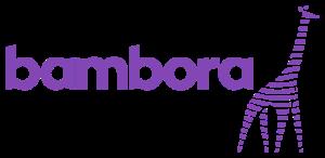Bambora-logo med giraf