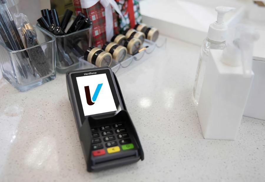 Verifone betalingsterminal